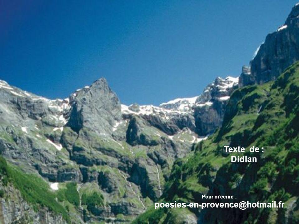 Texte de : Didlan poesies-en-provence@hotmail.fr