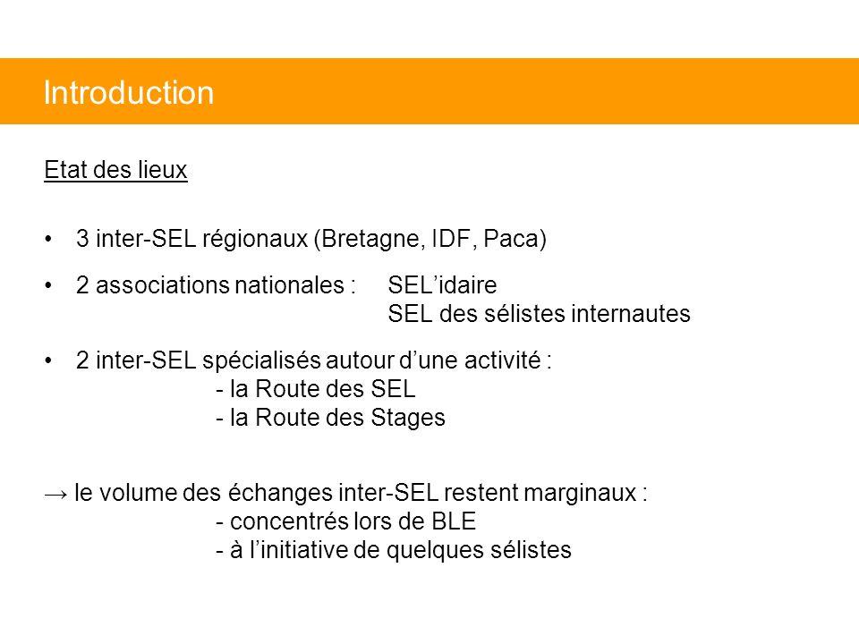 Introduction Etat des lieux
