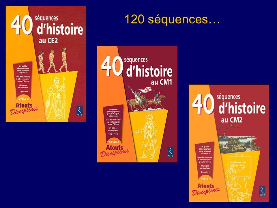120 séquences…