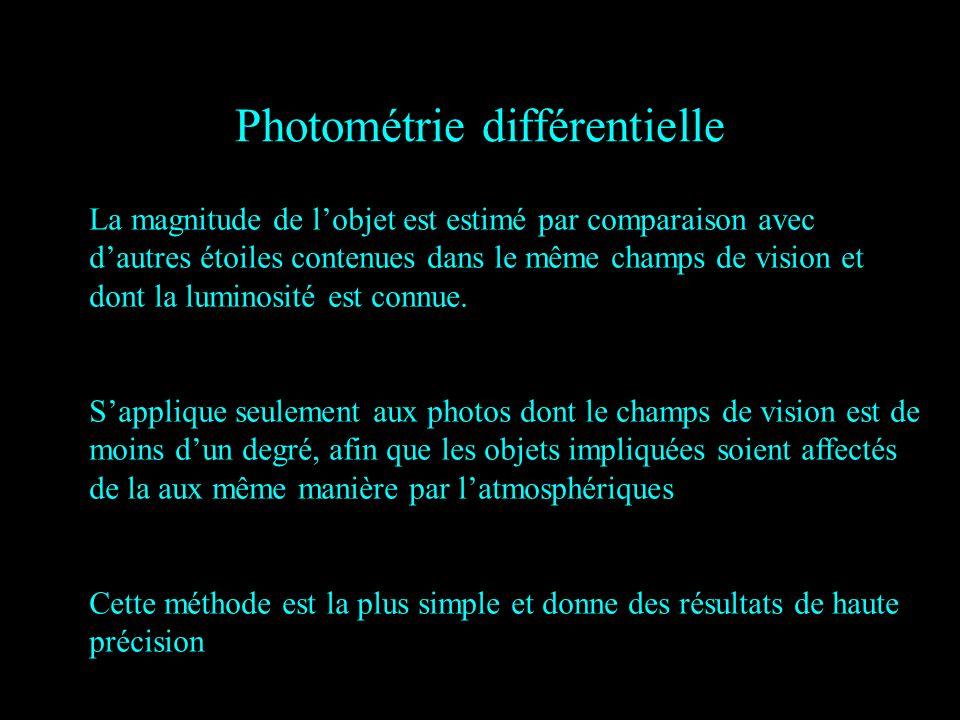 Photométrie différentielle