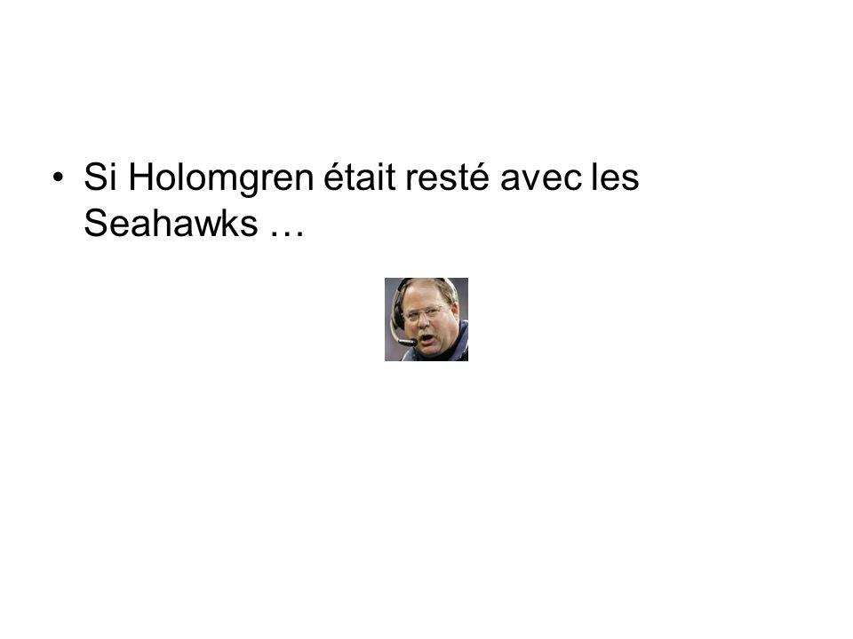 Si Holomgren était resté avec les Seahawks …