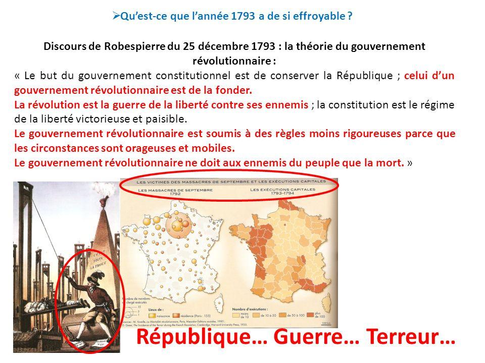 République… Guerre… Terreur…