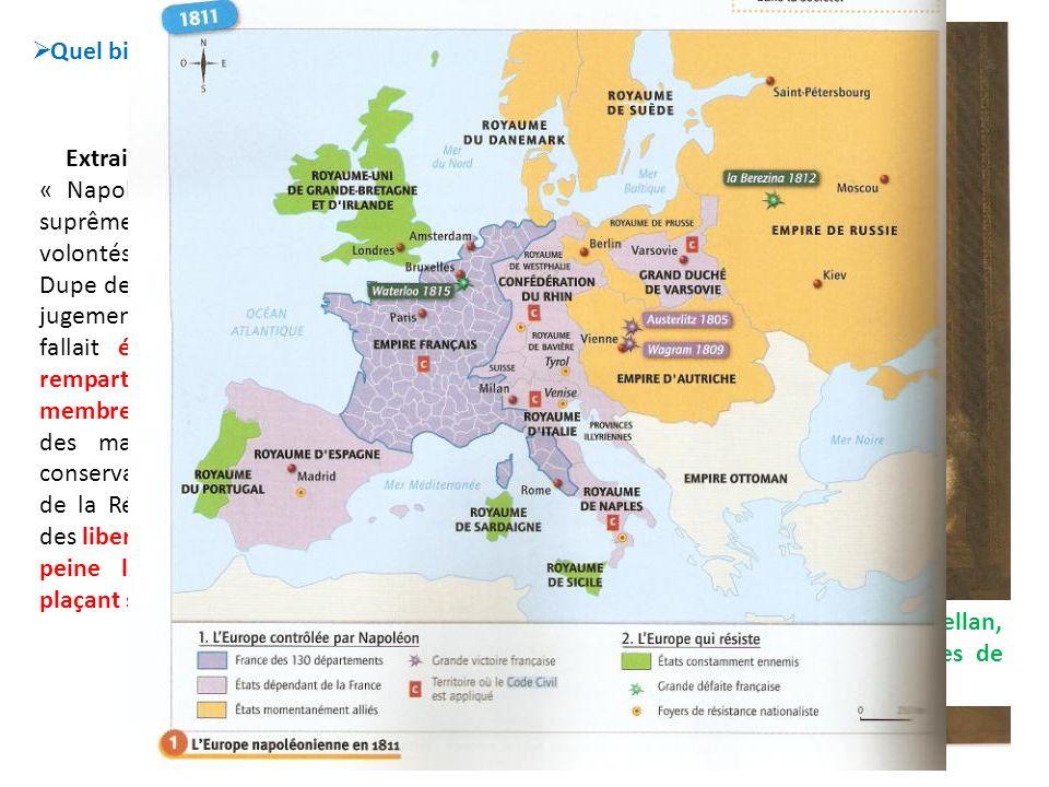Quel bilan Talleyrand dresse-t-il du règne de Napoléon Ier