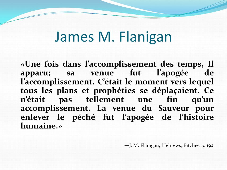 James M. Flanigan