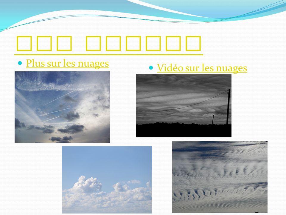 Les nuages Plus sur les nuages Vidéo sur les nuages