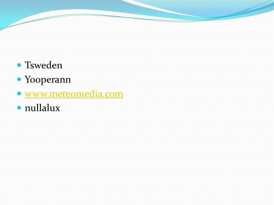 Tsweden Yooperann www.meteomedia.com nullalux