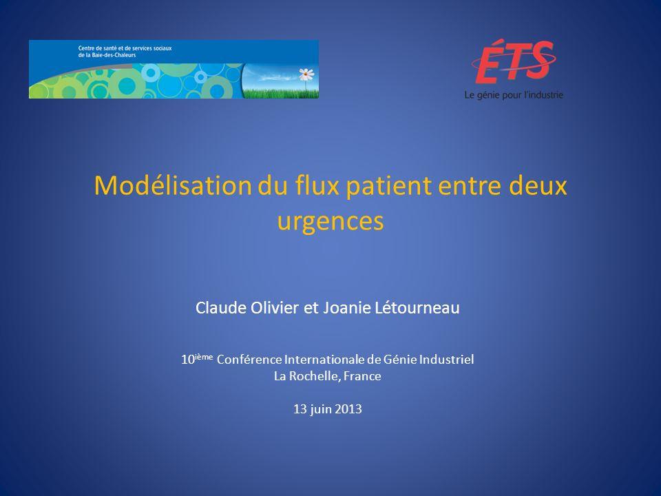 Modélisation du flux patient entre deux urgences