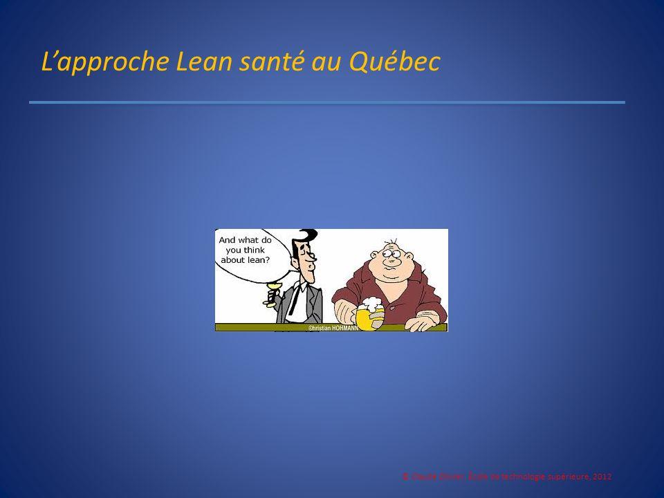 L'approche Lean santé au Québec