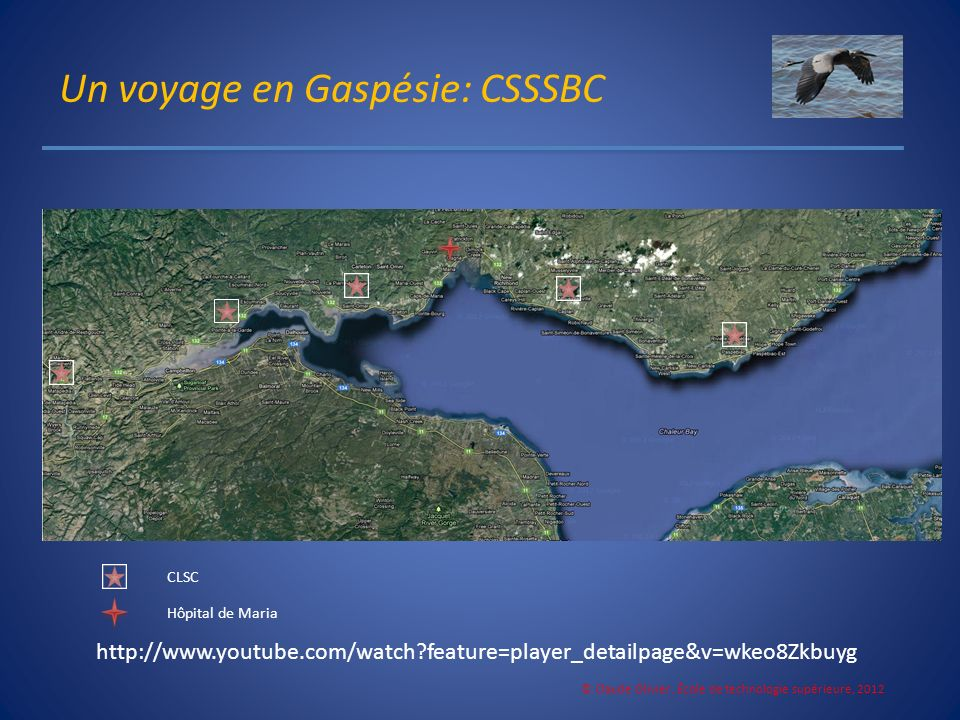 Un voyage en Gaspésie: CSSSBC