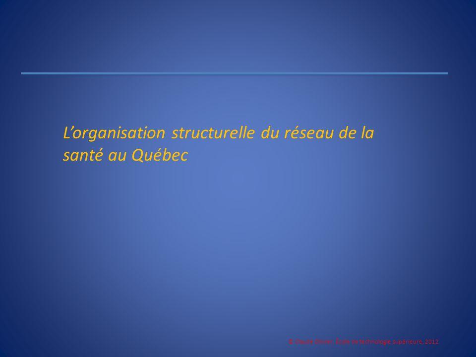 © Claude Olivier, École de technologie supérieure, 2012