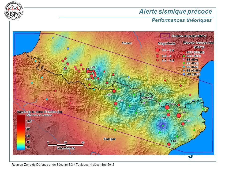 Alerte sismique précoce