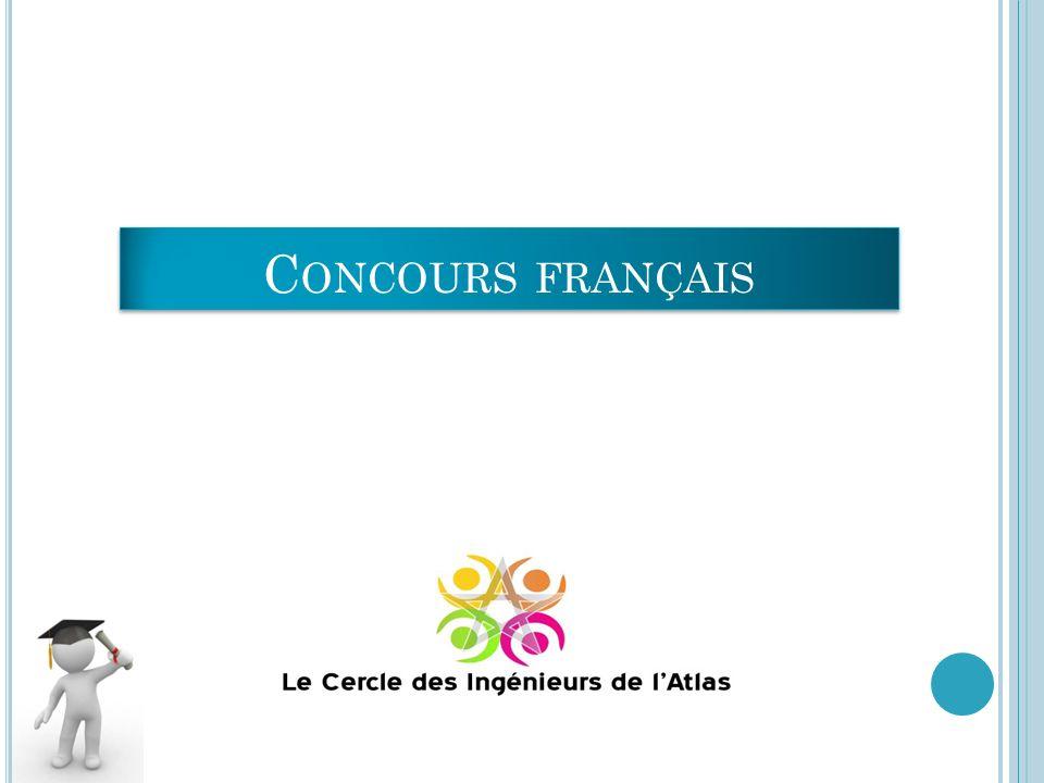 Concours français