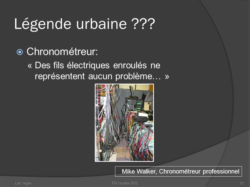 Légende urbaine Chronométreur: