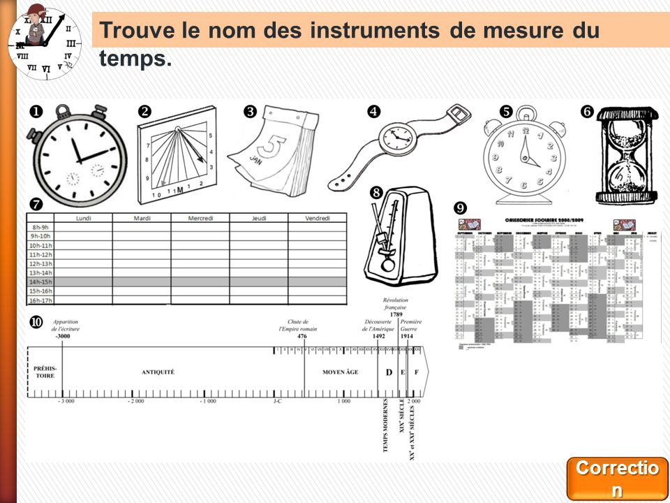 Célèbre Comment mesure- t-on le temps ? mesurer le temps. - ppt télécharger FW42