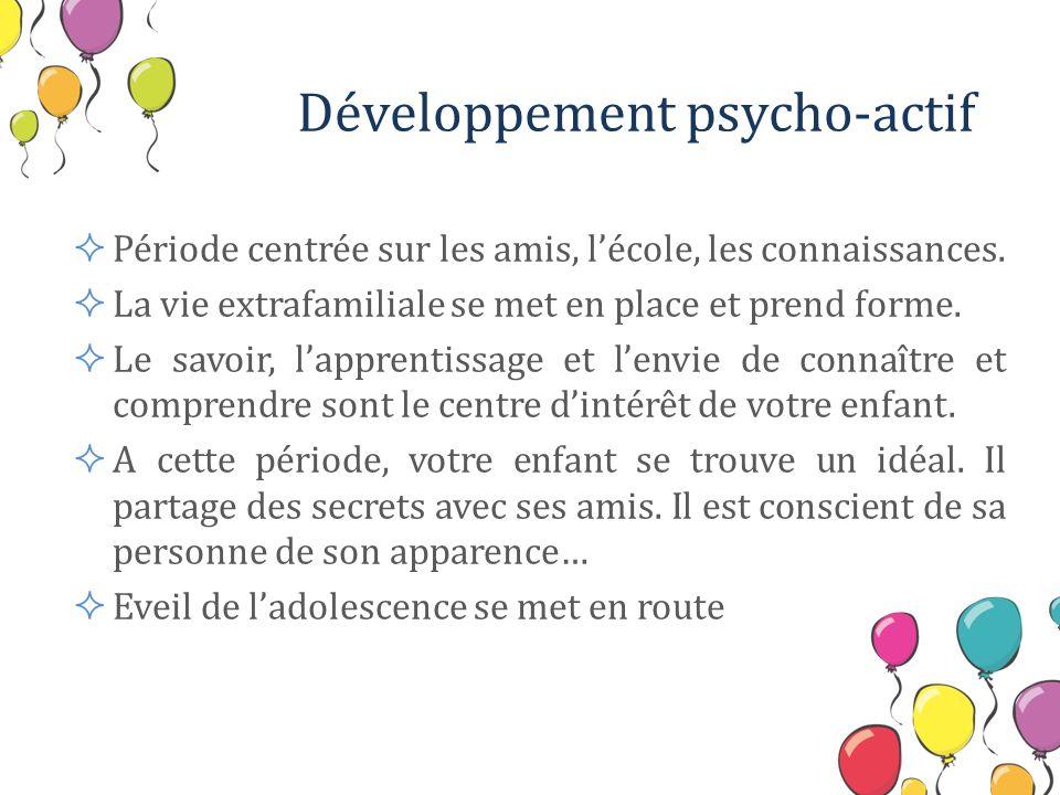 Développement psycho-actif