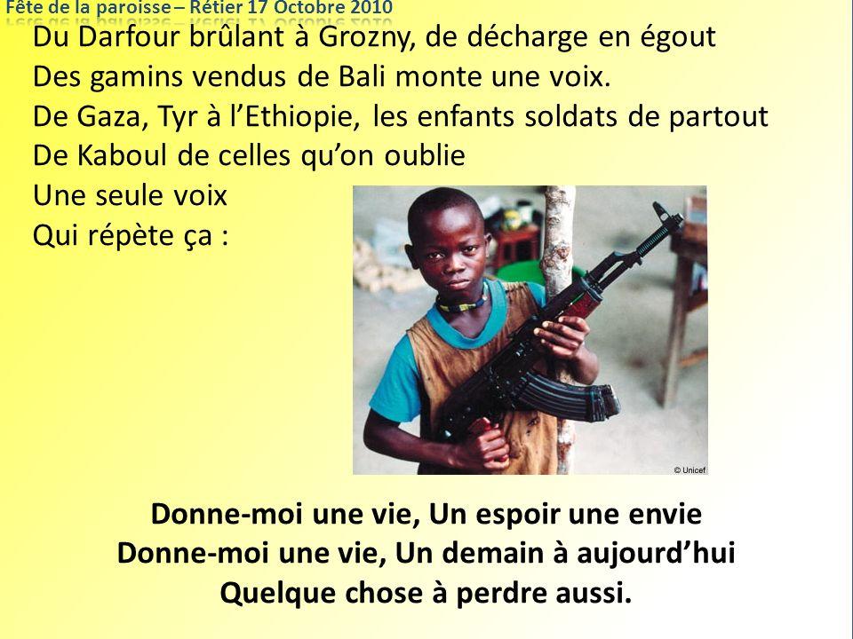 Du Darfour brûlant à Grozny, de décharge en égout