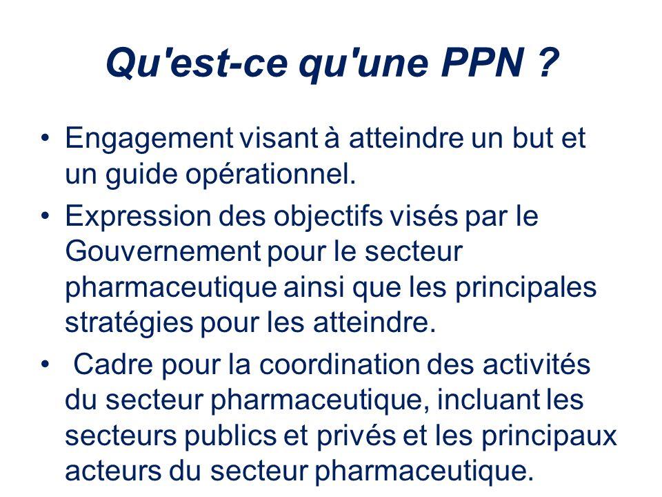 Qu est-ce qu une PPN Engagement visant à atteindre un but et un guide opérationnel.