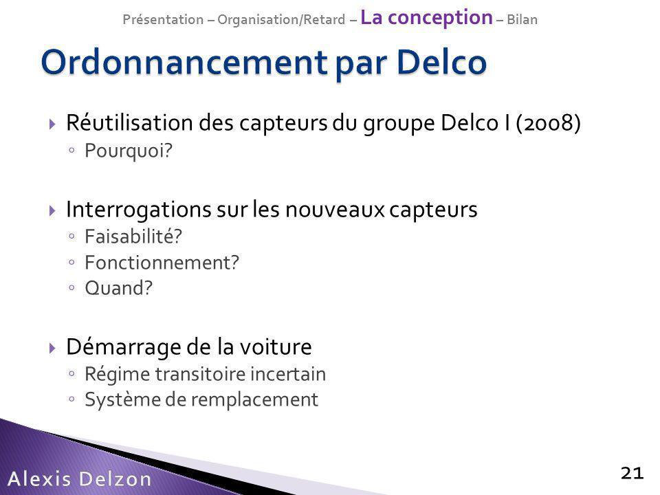 Ordonnancement par Delco