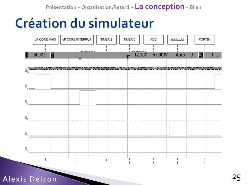 Création du simulateur