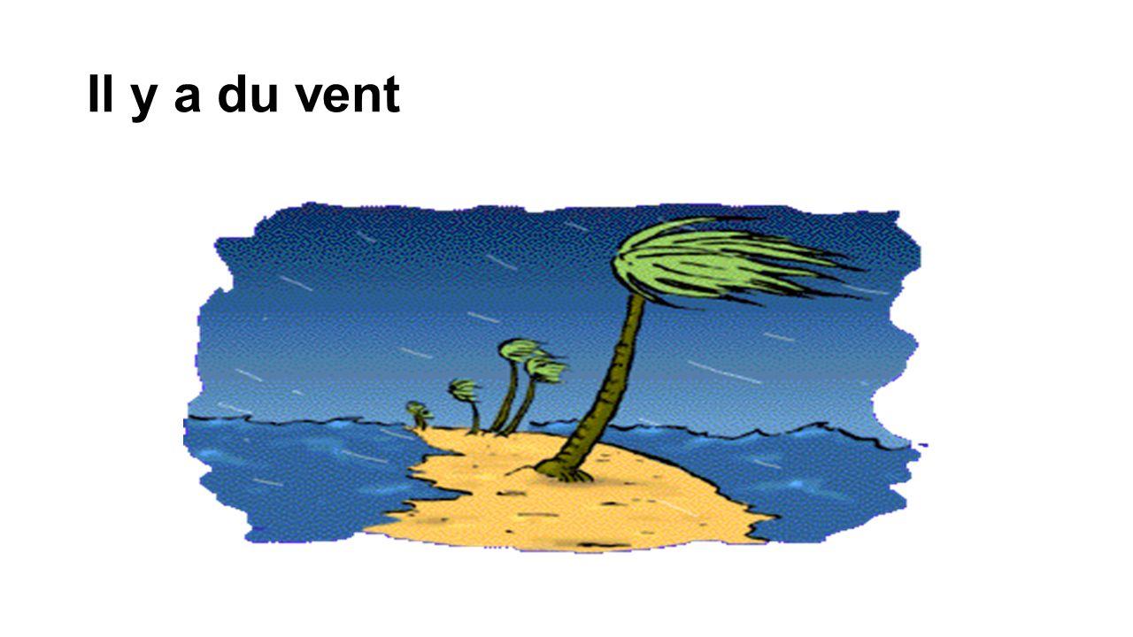 Il y a du vent