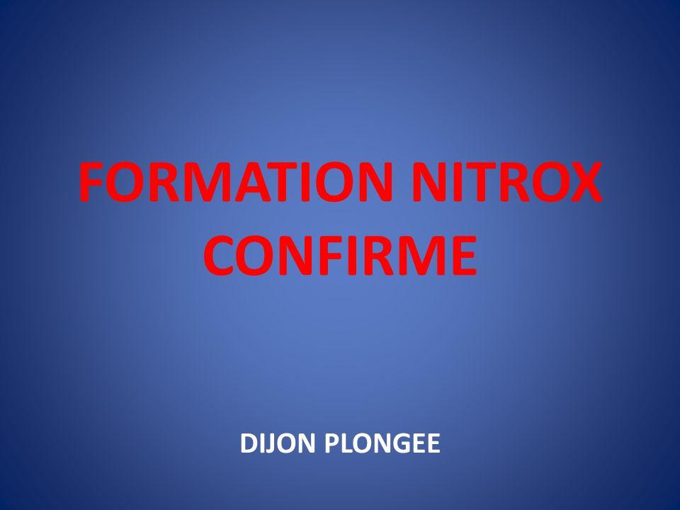 FORMATION NITROX CONFIRME