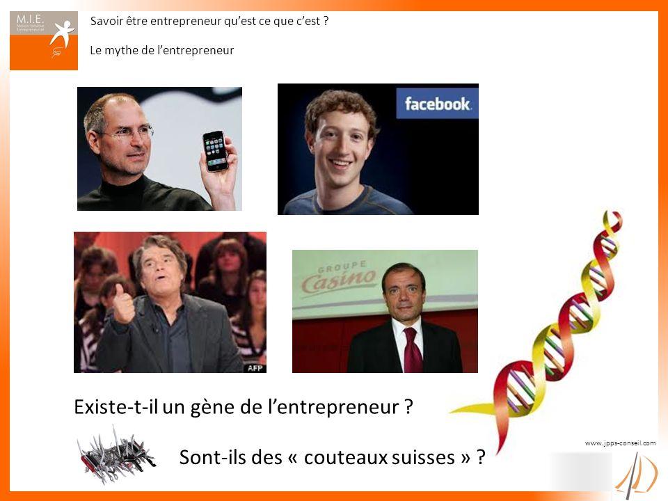 Existe-t-il un gène de l'entrepreneur