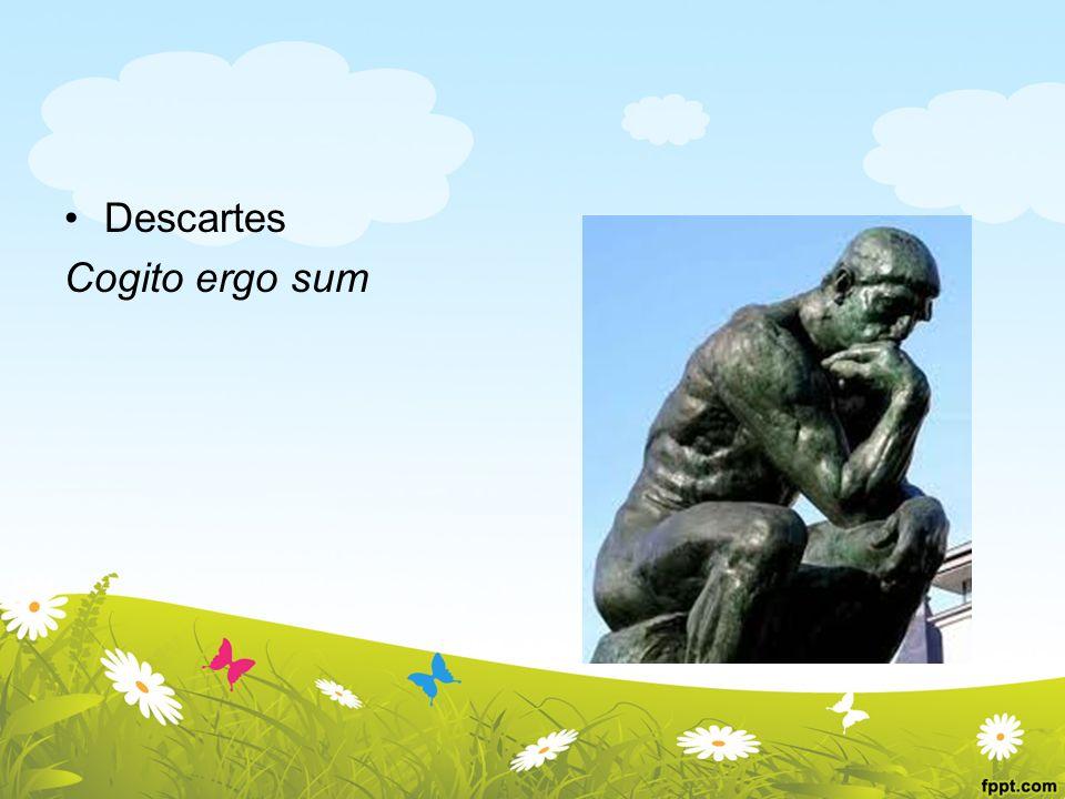 Descartes Cogito ergo sum