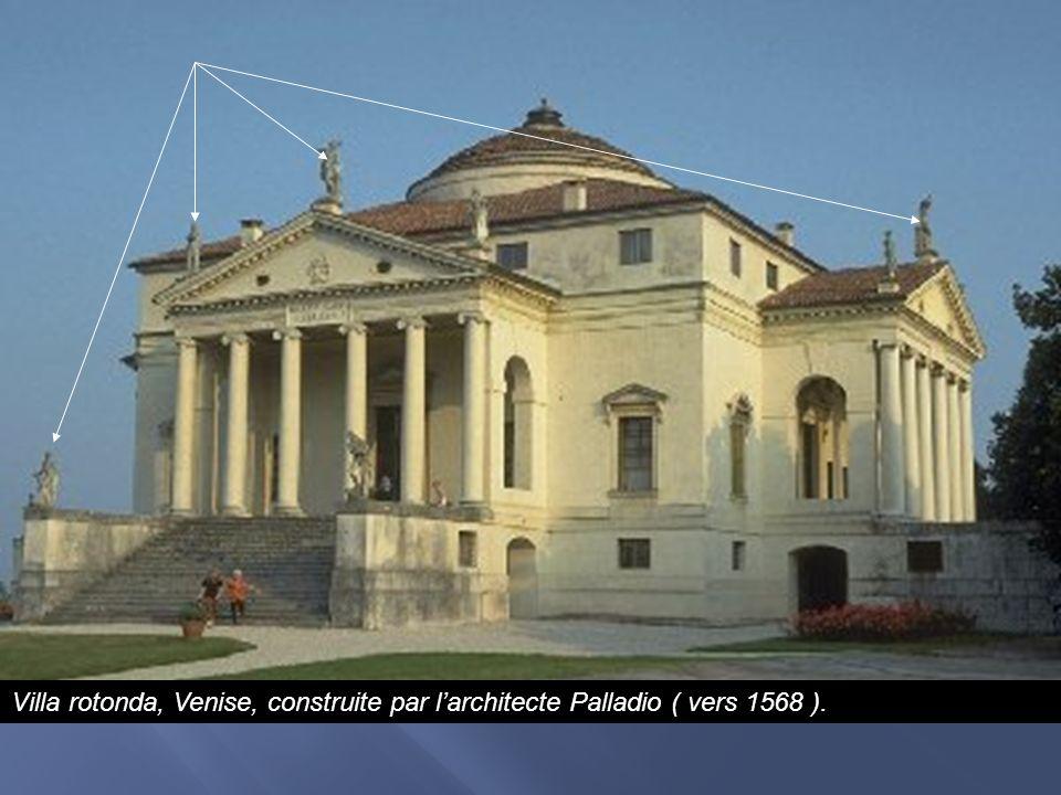 Villa rotonda, Venise, construite par l'architecte Palladio ( vers 1568 ).