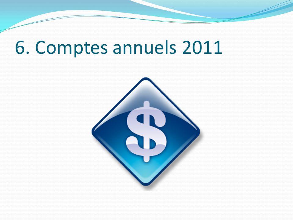 6. Comptes annuels 2011