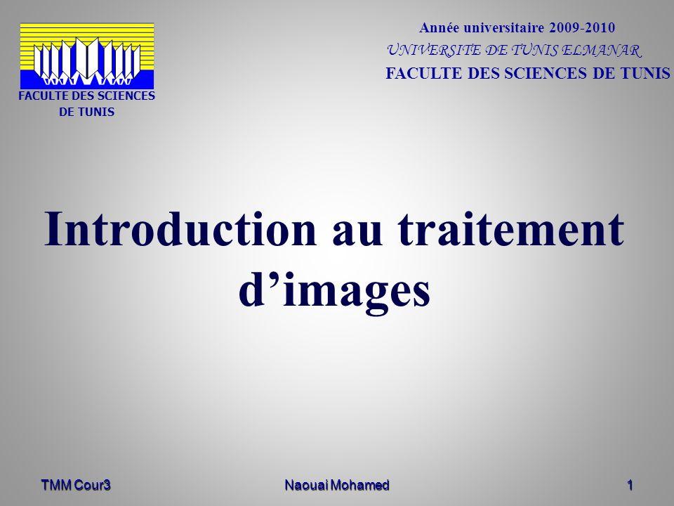 FACULTE DES SCIENCES DE TUNIS