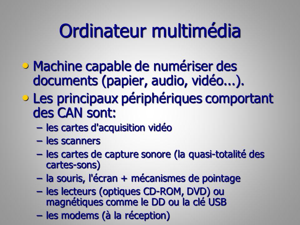 Ordinateur multimédia