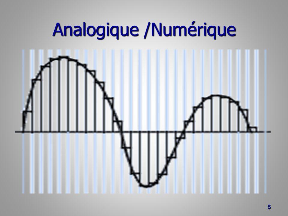 Analogique /Numérique