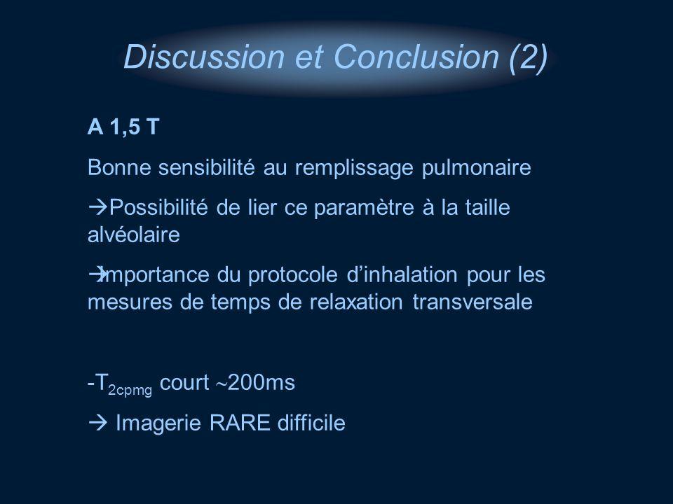 Discussion et Conclusion (2)