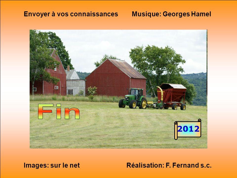 Fin 2012 Envoyer à vos connaissances Musique: Georges Hamel