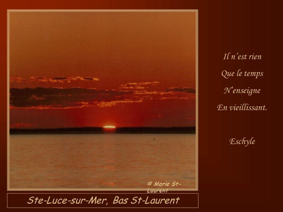 Ste-Luce-sur-Mer, Bas St-Laurent
