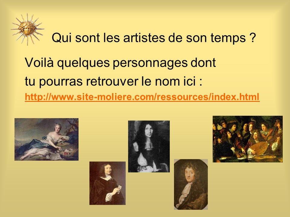 Qui sont les artistes de son temps