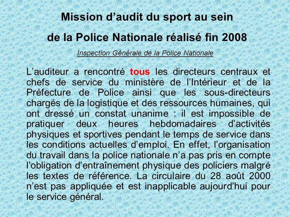 Mission d'audit du sport au sein