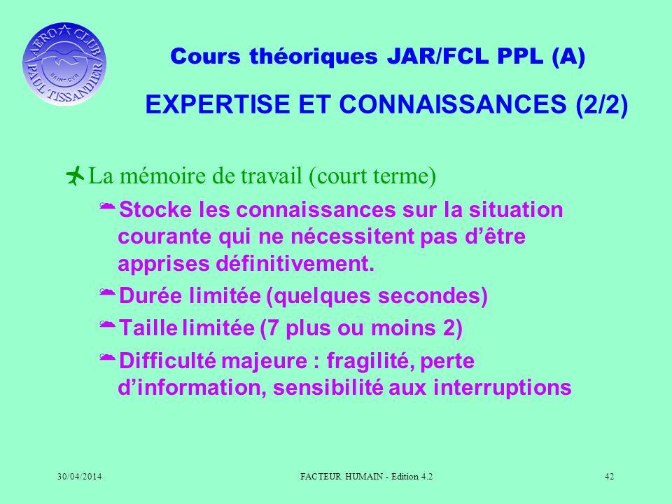 EXPERTISE ET CONNAISSANCES (2/2)