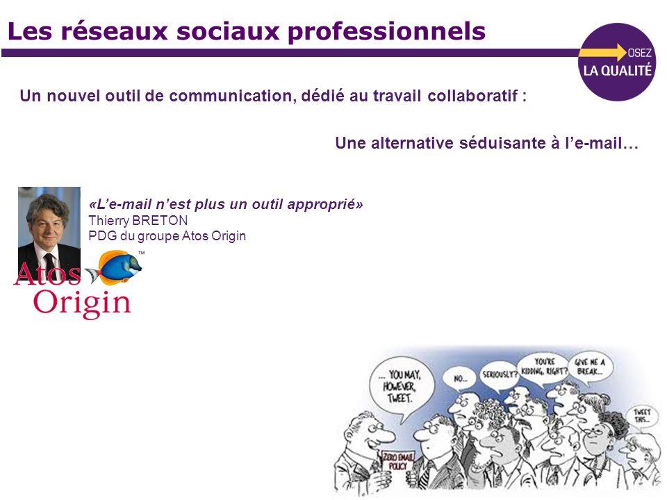 Les réseaux sociaux professionnels