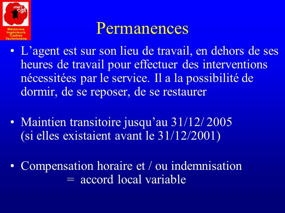 Permanences