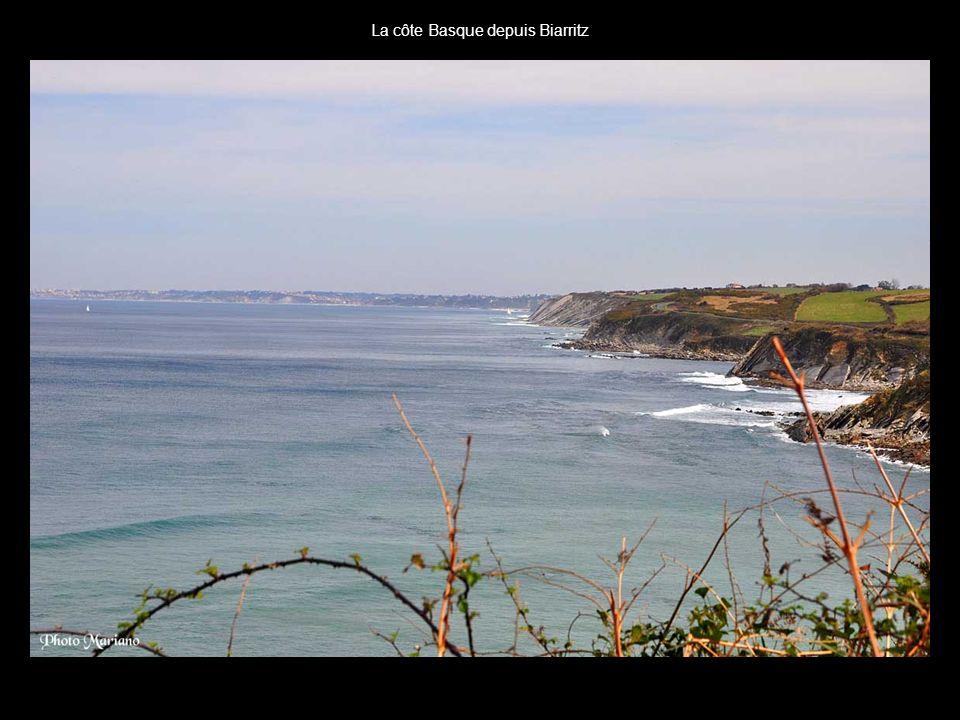La côte Basque depuis Biarritz