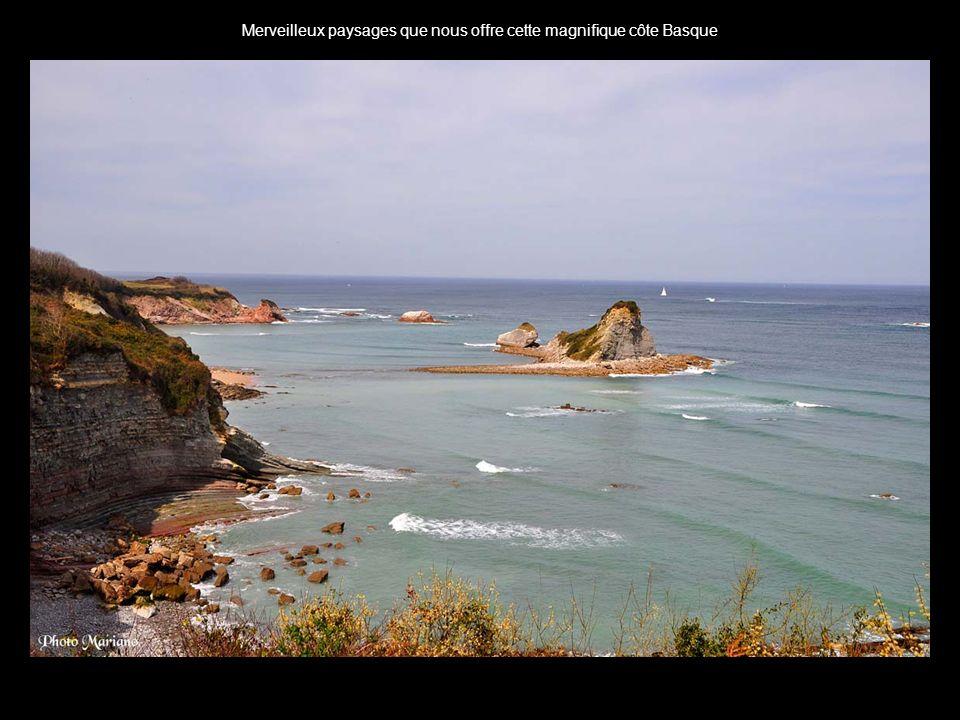 Merveilleux paysages que nous offre cette magnifique côte Basque