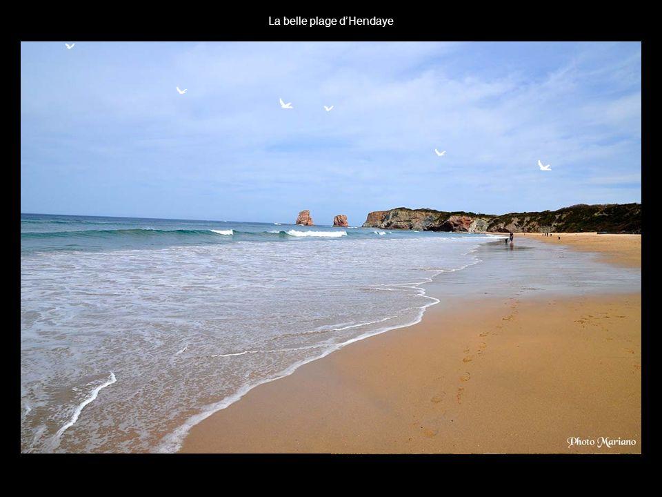 La belle plage d'Hendaye
