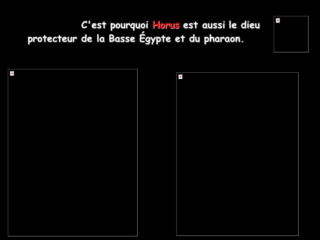 C est pourquoi Horus est aussi le dieu