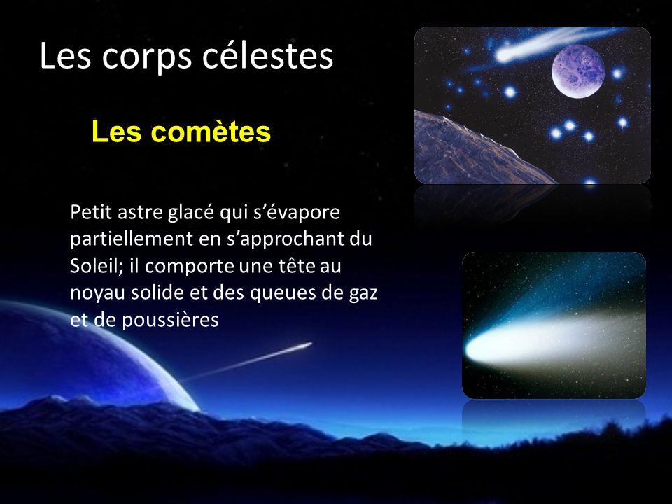 Les corps célestes Les comètes