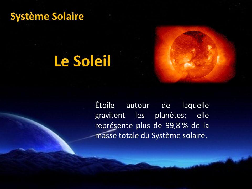 Le Soleil Système Solaire