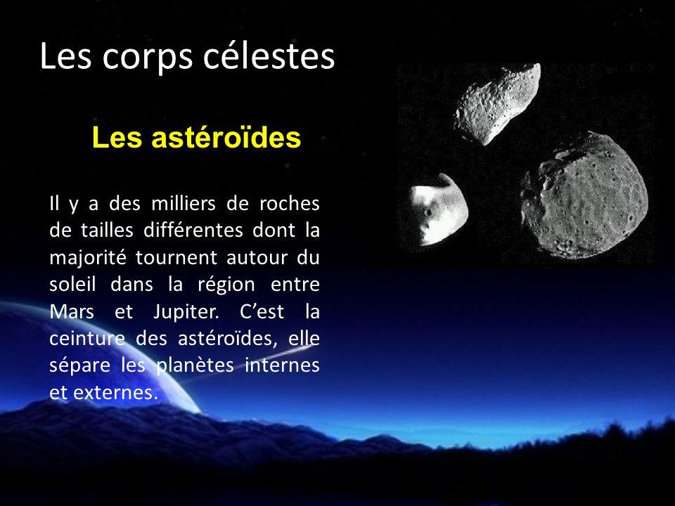 Les corps célestes Les astéroïdes