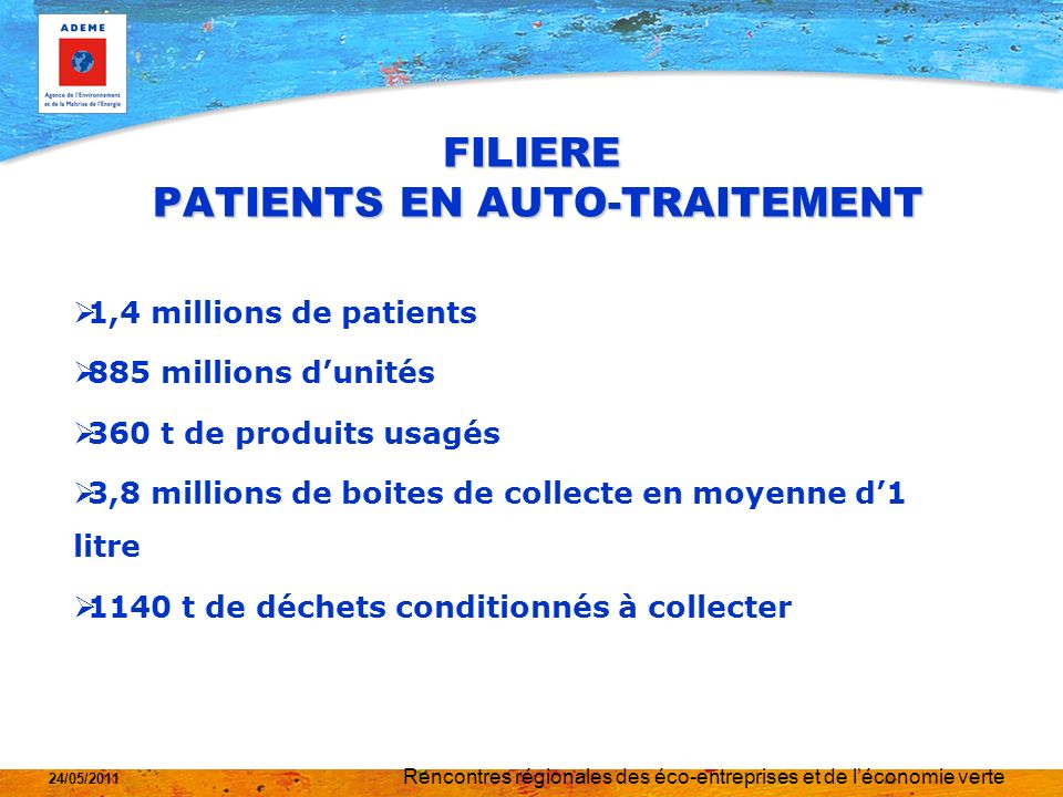 FILIERE PATIENTS EN AUTO-TRAITEMENT