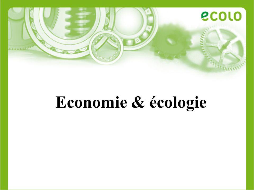 Economie & écologie