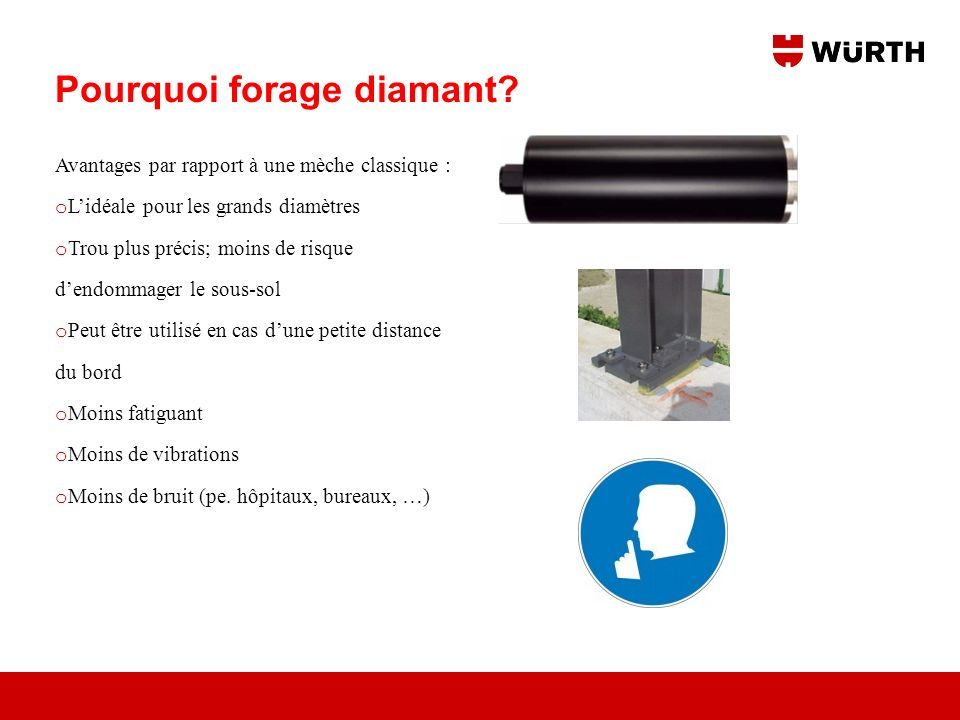 Pourquoi forage diamant